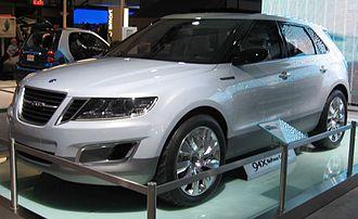 Saab 9-4X - Saab 9-4X concept