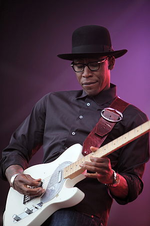 Stone Rollin' - Saadiq performing at Eurockéennes de Belfort in 2011