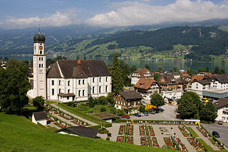 Sachseln Place in Obwalden, Switzerland