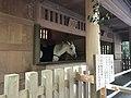 """Sacred Horse """"Emitomo"""" in Miumaya House of Toyouke Grand Shrine 2.jpg"""