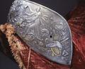 Sadel tillhörande Erik XIV's rustningsgarnityr - Livrustkammaren - 38842.tif