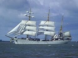Sail training ship Gorch Fock (2010)