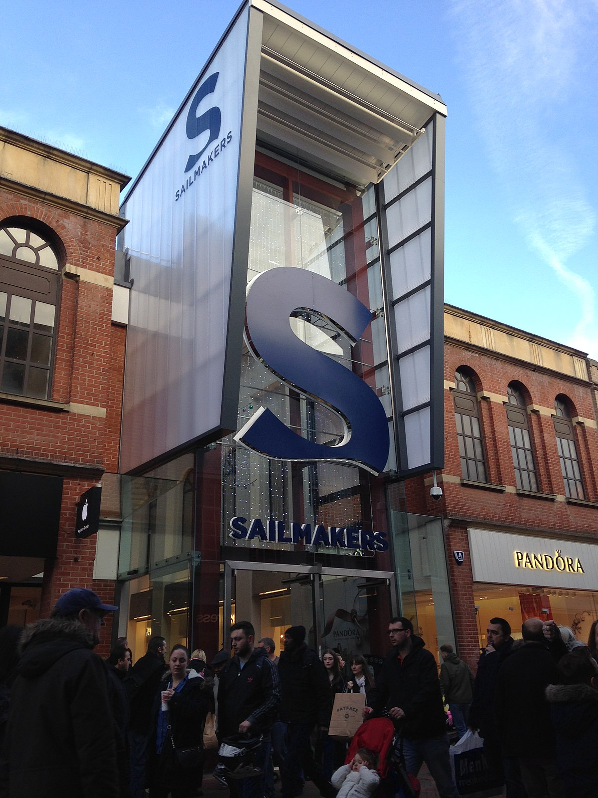 sailmakers shopping centre