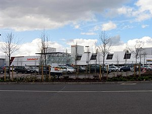 Calcot, Berkshire - SavaCentre Hypermarket in Calcot, Reading