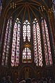 Saint Chapelle stained glass windows 4, Paris May 2014.jpg