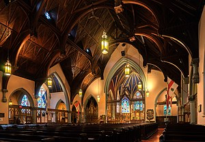 St. George's Anglican Church (Montreal) - Interior of the church