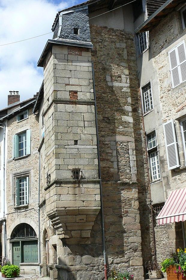 Monument historique à Saint-Léonard-de-Noblat