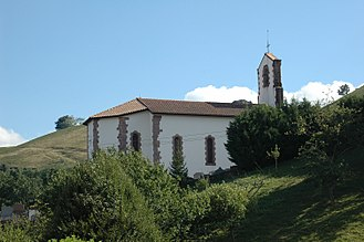Saint-Martin-d'Arrossa - The church of Saint-Martin-d'Arrossa