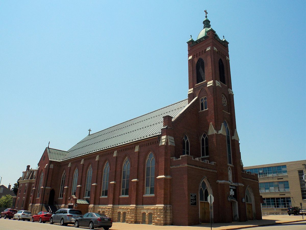 saint patricks church dubuque iowa wikipedia