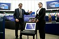 Sakharov Prize daughter of 2019 laureate Ilham Tohti receives prize on his behalf (49238839581).jpg