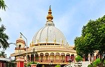 Samadhi Mandir of Srila Prabhupada (front), Mayapur 07102013 01.jpg