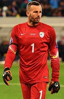 Samir Handanović Slovenian association football player