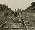 Samuel & Hester Grant on Comber Railway Line at Railway Street circ 1953 - panoramio.jpg