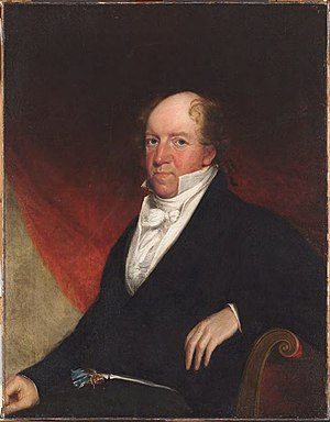 Samuel Appleton (merchant) - Portrait of Samuel Appleton by Gilbert Stuart Newton, 1818
