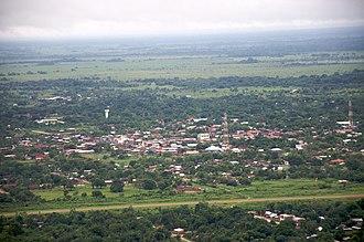 San Borja, Bolivia - Image: San Borja, Bolivia aerial