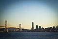 San Francisco-Oakland Bay Bridge and Skyline from Treasure Island 6959146192.jpg