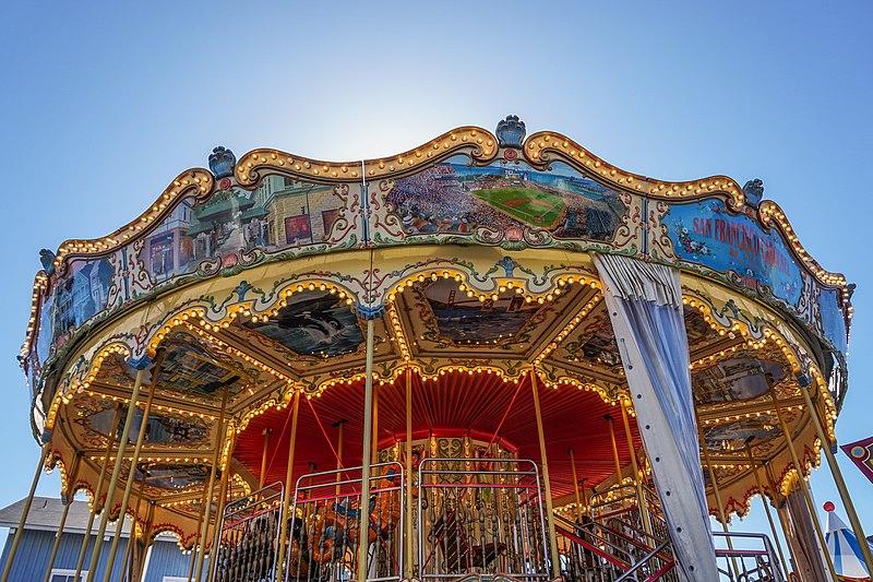 File:San Francisco Carousel at Pier 39.jpg