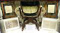 San filippo neri, reliquie di s. filippo neri 04 sedia appartenuta a san filippo neri e autografi.JPG