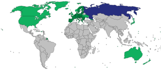 International sanctions during the Ukrainian crisis - Image: Sanctions 2014 Russia 2