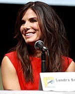 Photo of Sandra Bullock in 2013.