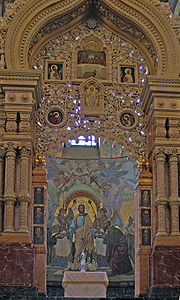 Sankt Petersburg Auferstehungskirche innen 2005 a