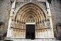 Santa Maria de Castelló d'Empúries - Portalada.JPG