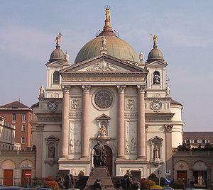 Mary Help of Christians - Basilica of Our Lady Help of Christians, Turin, founded by St. John Bosco