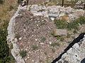 Santuario di Monte Sant'Angelo. Piccolo tempio riuso medievale - Esterno 53 (cisterna pentagonale) 2.JPG