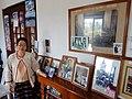 Sao Sarm Hpong (Fern) Shows Display of Photos - Shan Palace - Outside Hsipaw - Myanmar (Burma) (12224285896).jpg