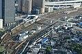 Sasashima-raibu Station and Sasashima-Komeno Pedestrian Bridge.jpg