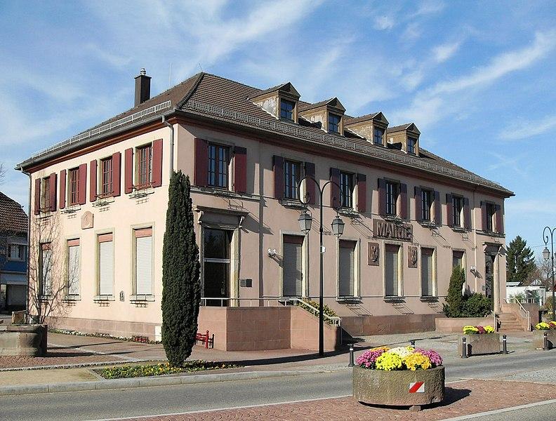 File:Sausheim, Mairie.jpg