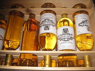 Château Coutet - A case of Château Coutet bottles.