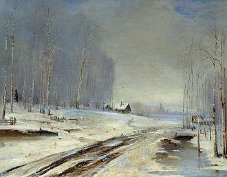 Rasputitsa - Rasputitsa (Sea of Mud), 1894, Alexei Savrasov