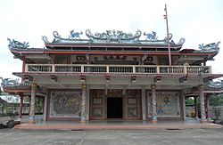 Chinese Temple on Rat Uthit Rd.