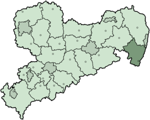 Löbau-Zittau - Image: Saxony zi