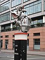 Scary dragon, Farringdon Street, EC1 - geograph.org.uk - 1141709.jpg