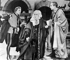 Edna May Oliver -  John Barrymore, Edna May Oliver and Leslie Howard in Romeo and Juliet (1936)