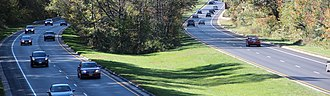Greenbelt, Maryland - Scenic entry to the Nation's Capital: The Baltimore–Washington Parkway