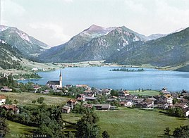 Schliersee omkring 1900