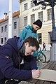 School strike for climate in Tartu, Estonia, on March 29, 2019 01.jpg