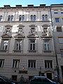 Schumy house (1898). Facade (W). - 10 Pauler Street, Budapest.JPG