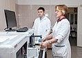 Scientific work on research system Bentley DairySpec Combi 150.jpg