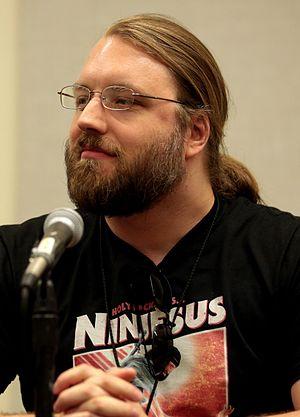 Scott Lynch - Lynch at the 2017 Phoenix Comicon