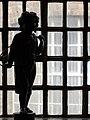 Sculpture in Window - Museum of Iron - Coalbrookdale - Coalbrookdale - Shropshire - England (27586081354).jpg