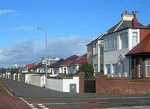 Ayr (Scottish Parliament constituency) - Bungalows in Seafield.