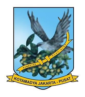 Central Jakarta - Image: Seal of Central Jakarta