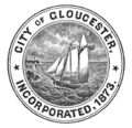 Seal of Gloucester, Massachusetts (1882).png