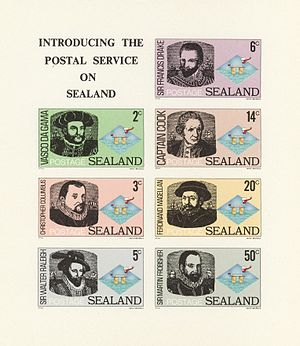 Coins And Postage Stamps Of Sealand Wikipedia