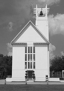 Seaside Chapel A Community Landmark Designed By Merrill Pastor Colgan In 2001