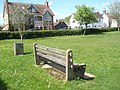 Seat in Liss Recreation Ground - geograph.org.uk - 1272714.jpg